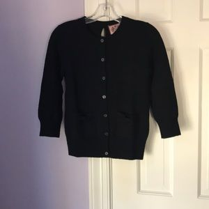 Black cardigan by Juicy Couture